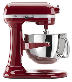 KitchenAid Pro 600 Stand Mixer in Empire Red