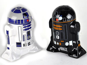 R2-D2 Droid Salt and Pepper Shakers