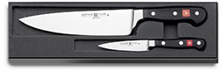 Wusthof Model 9755 2 Piece Knife Set with cook knife and paring knife