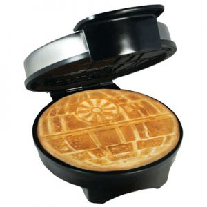 Death Star Waffle Iron for Star Wars and Imperial fans