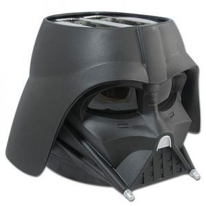 Darth Vader helmut mask toaster from Star Wars fame