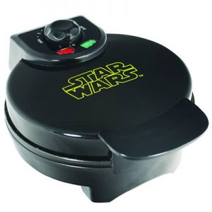 Darth Vader waffle maker for Star Wars fans